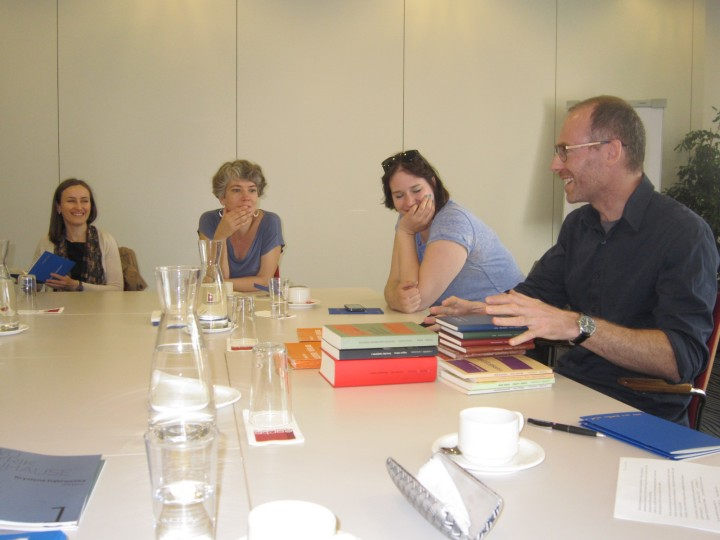 Meeting with the publishers
