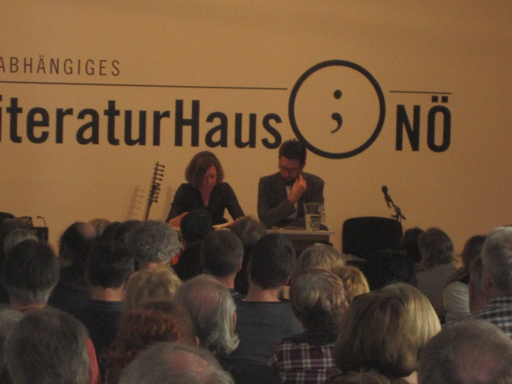 Poetry till the end of the festival - Rosa Pock & Raphael Urweider